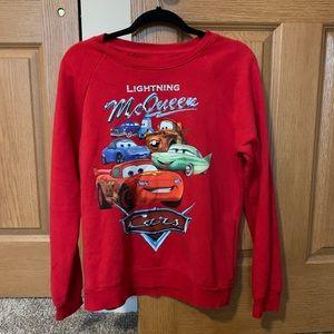 Disney Cars Lightening McQueen Sweatshirt